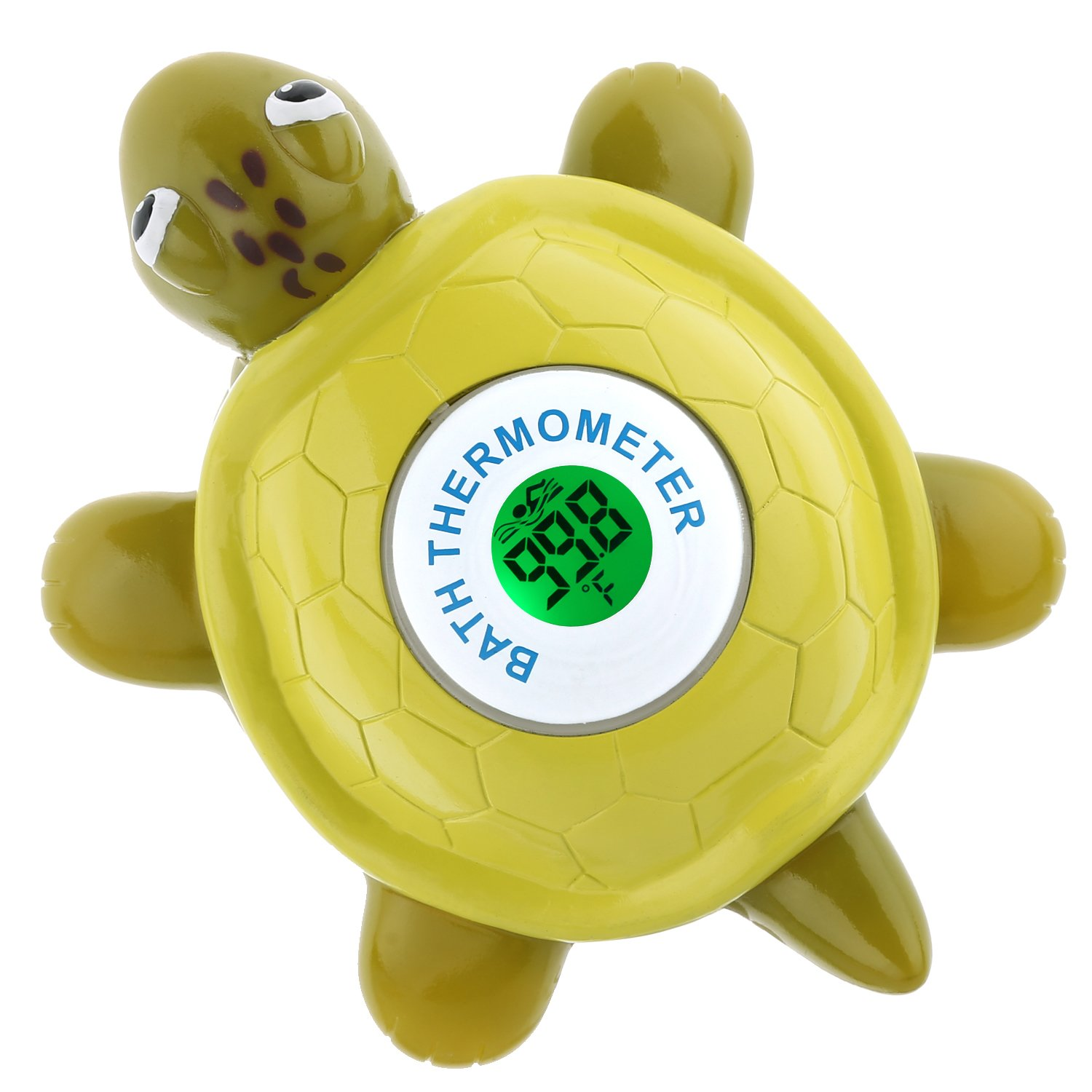 Baby Bath Thermometer, OUREIDA Floating Tortoise Bath Toy Bathtub Water Temperature Thermometer for Baby Bathing Safety (Tortoise)