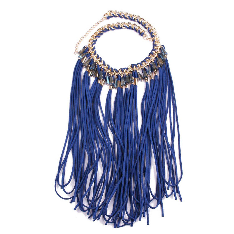 Necklace Cadena Señoras Equipo Partido Collar Party Gargantilla