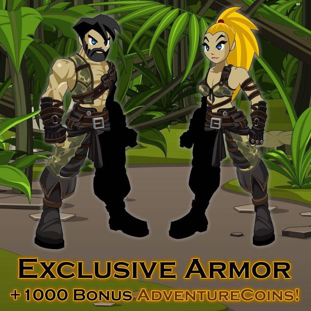 Amazon com: Amazon Warrior Armor: AdventureQuest Worlds [Instant