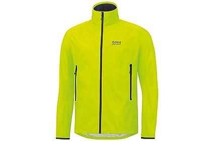 Gore Bike Wear, Chaqueta de Ciclismo, Hombre, Windstopper, Talla L, Negro