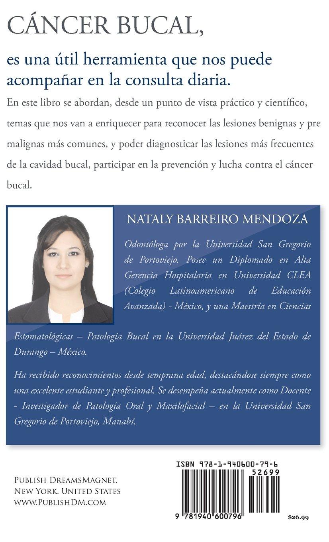CÁNCER BUCAL (Spanish Edition): Nataly Barreiro Mendoza ...