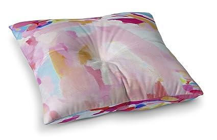 Amazon Com Kavka Designs Dirty Blonde Martini Floor Pillow Pink