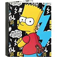 Los Simpsons Carpeta Folio 4 Anillas Mixtas, Color Negro (SAFTA 511605067)