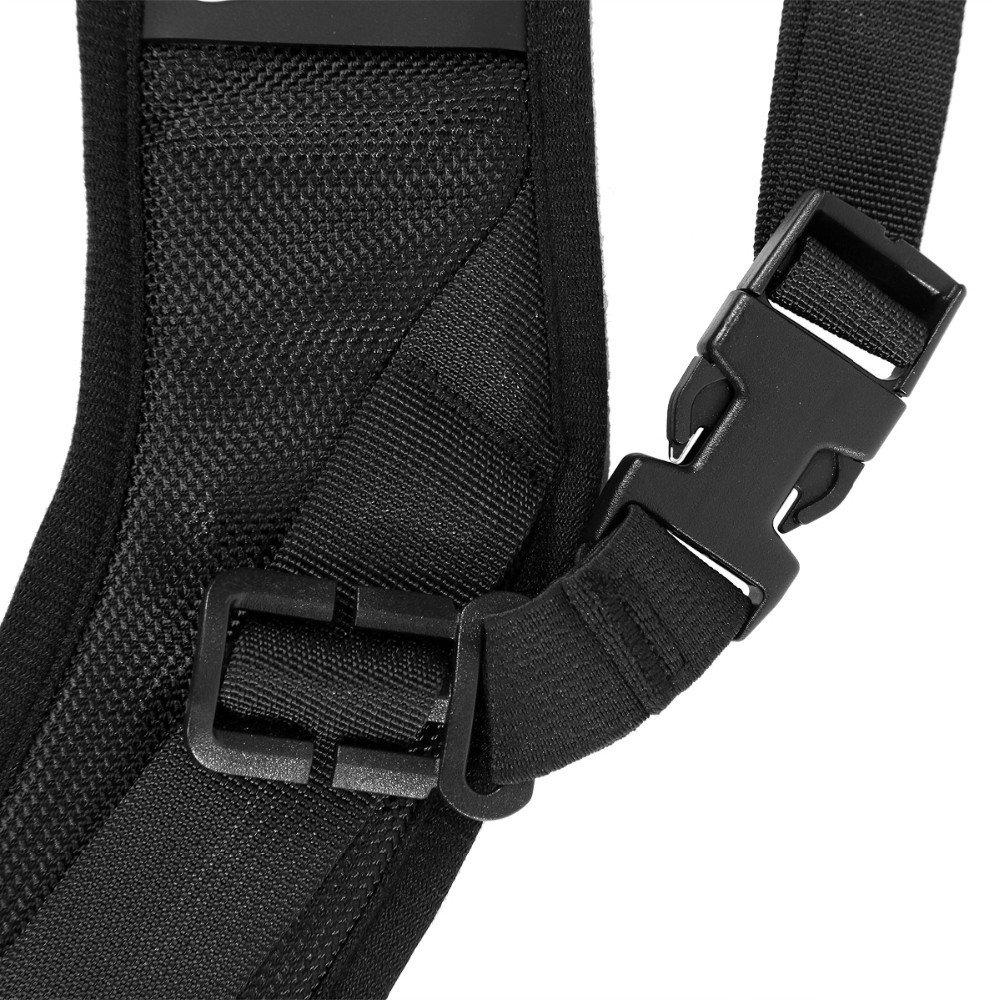 Fomito Quick Rapid Shoulder Sling Belt Neck Strap 2pcs Screw Mount Caden Camera Kamera For Dslr Slr Dv Black Accessories