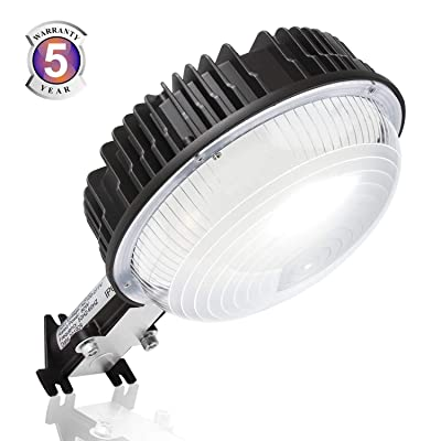 LED Barn Light, 100W Dusk to Dawn Ultra Bright LED Yard Lights with Photocell, 5000K Daylight 12, 000LM 600W MH Replacement, IP65 Waterproof for Indoor Outdoor Wall Mount Security Area Lighting Fixture
