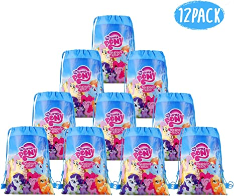 Amazon.com: My Little Pony Bolsas de regalo para fiesta de ...