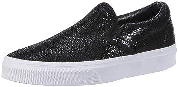 987380c8a03 Vans Classic Slip Hawaii Chaussures Mode Sneakers Femme Noir  Amazon ...