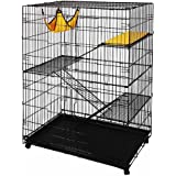 Large Pet Crate Cat Cage Kennel Hammock Bed