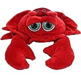 """8"""" Bright Eyes Pocketz Crab & Baby"""