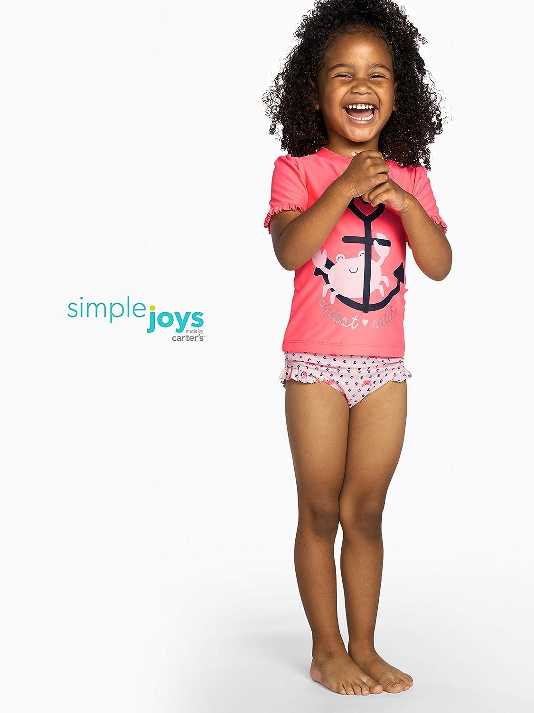 Simple Joys by Carters Girls Rash Guard
