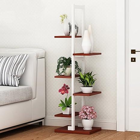 Regal im Wohnzimmer Schlafzimmer Küche Blumenregale Pflanzenregal ...