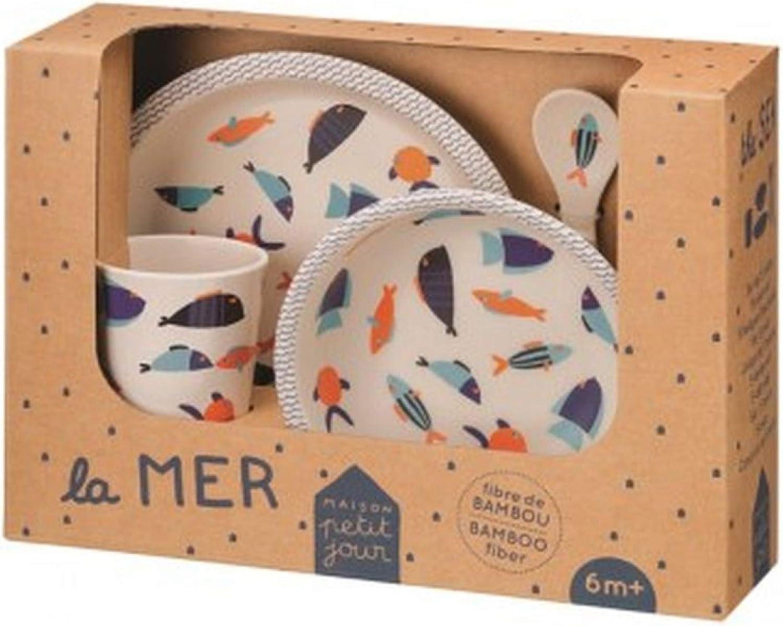 Coffret cadeau 5 pi/èces la mer Petit Jour Paris