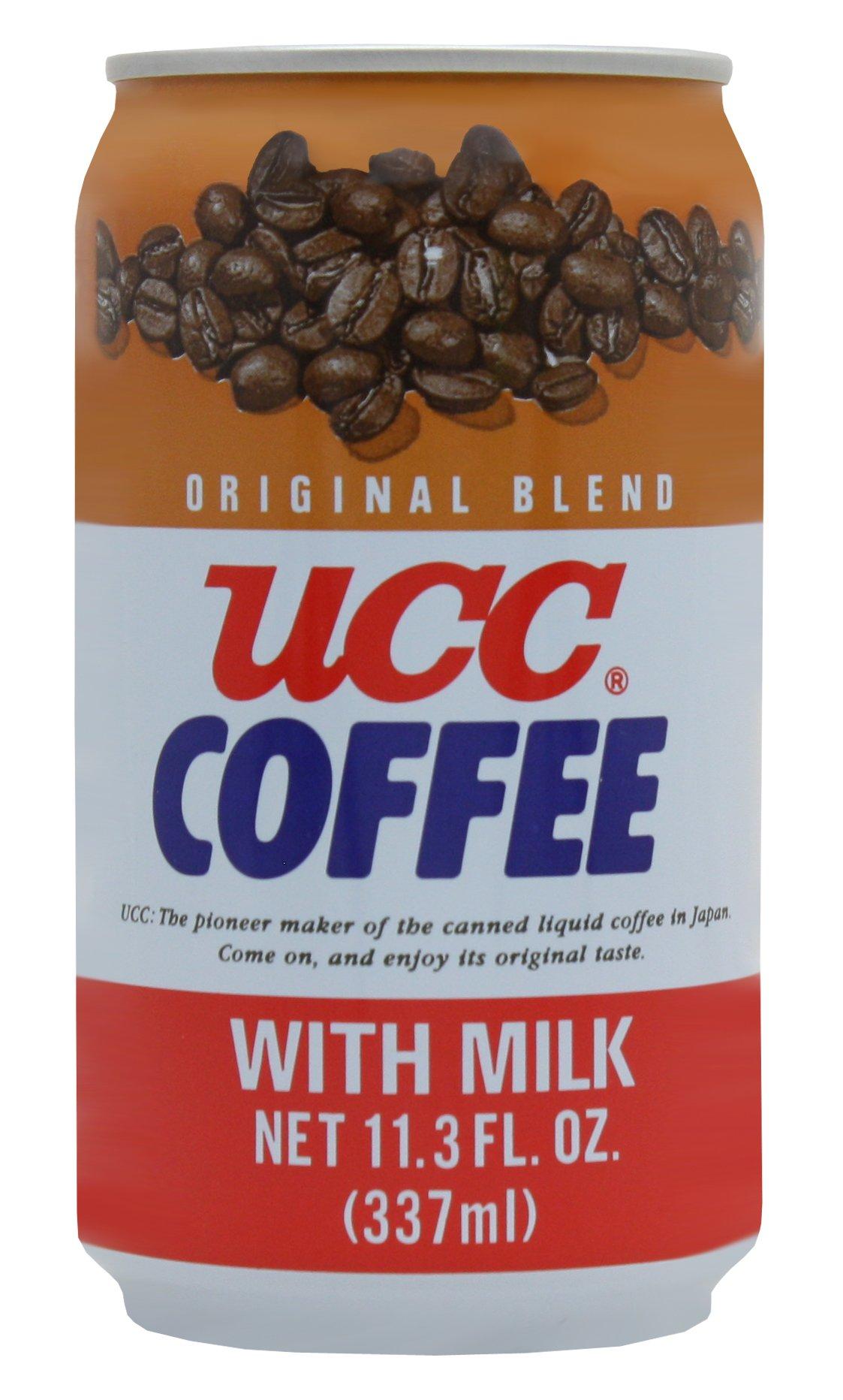 UCC Original Coffee with Milk, 11.3- Fl. Oz Cans (Pack of 24) by C&U
