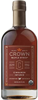product image for Crown Maple Syrup Maple Cinnamon Infused, 8.5 fl oz