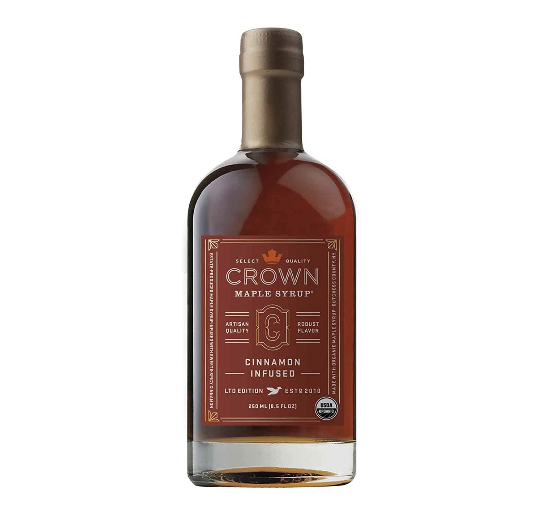 Crown Maple Syrup Maple Cinnamon Infused, 8.5 fl oz