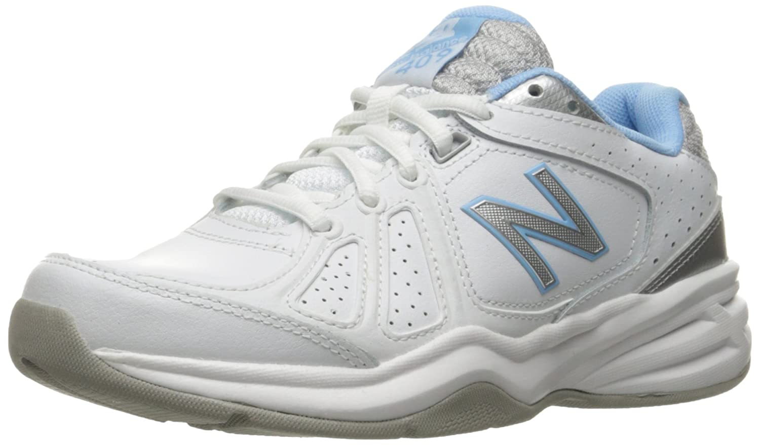New Shoe Balance Women's WX409V3 Casual Comfort Training Shoe New B01CQVTRNQ 8.5 B(M) US|White/Blue 7779e0