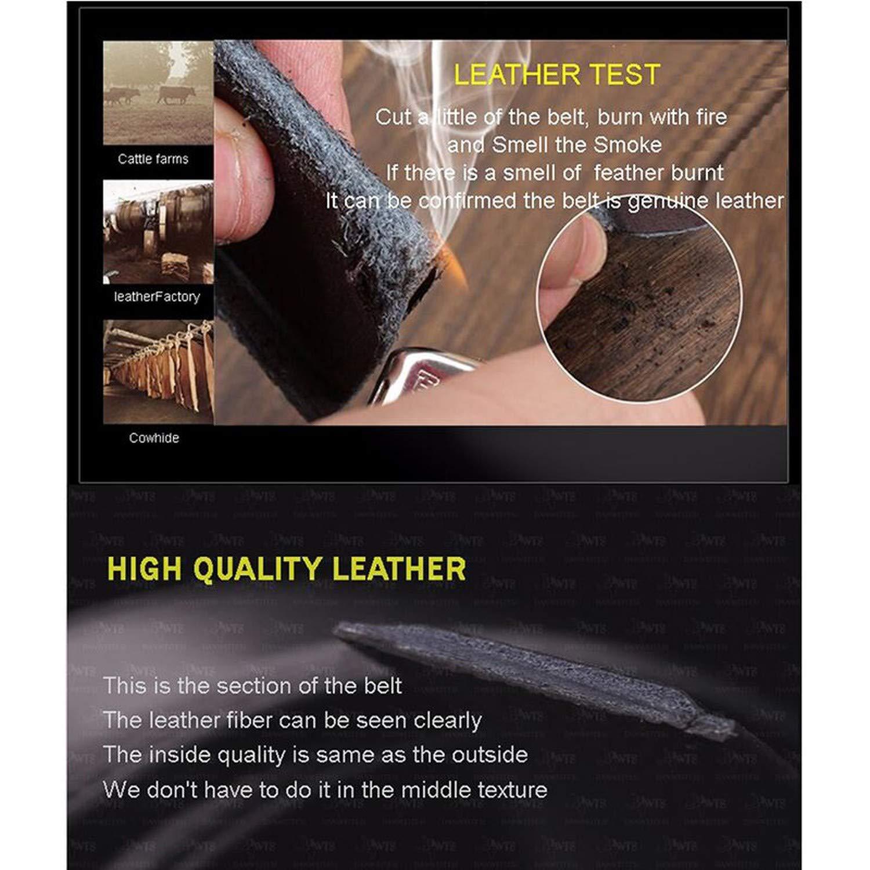 leather strap male automatic buckle belts for men authentic girdle trend mens belts ceinture Fashion designer women jean belt,Gold 1,130cm