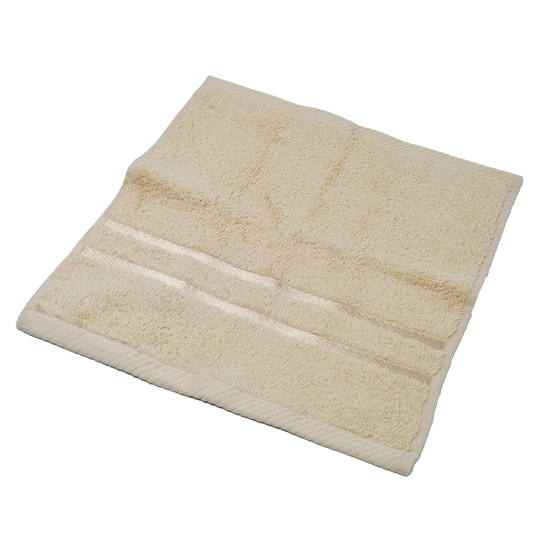 500 g//mq Confezione da 6 Set di Asciugamani in Flanella di Cotone Egiziano 30 x 30 cm Bianco Super Morbidi e Altamente assorbenti Towelogy /®