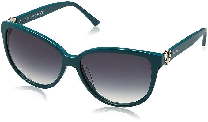 Swarovski SK0120-5687P, Gafas de Sol para Mujer, Shiny ...