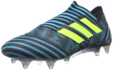 318e09a74d73 adidas Performance Mens Nemeziz 17+ 360 Agility SG Soccer Boots Shoes - 8.5  Blue