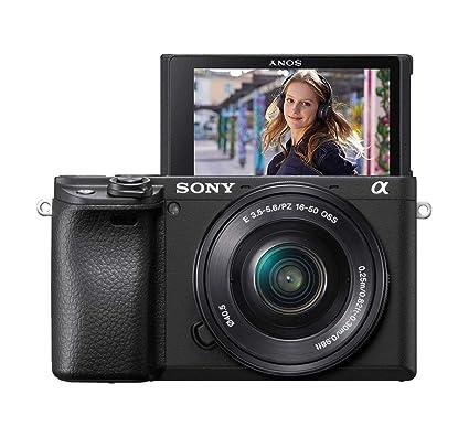 Sony Alpha 6400LB - Cámara compacta de 24.2 MP (Sensor APS-C CMOS ...