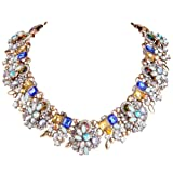 Amazon Price History for:EVER FAITH Vintage Style Art Deco Statement Necklace Austrian Crystal Gold-Tone