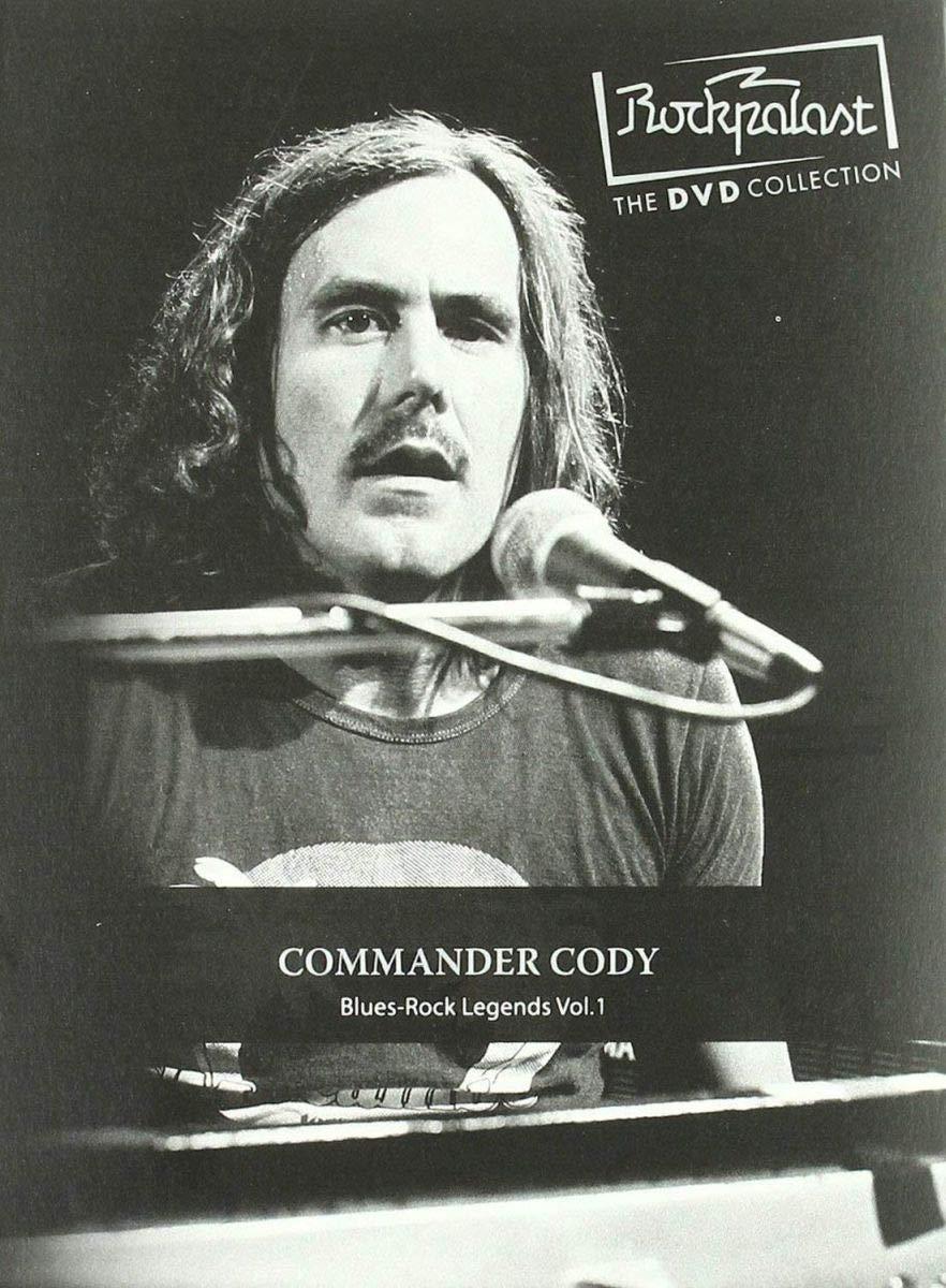 Rockpalast : Blues Rock Legends /Vol.1 [DVD]: Amazon.es: Commander Cody, Commander Cody: Cine y Series TV