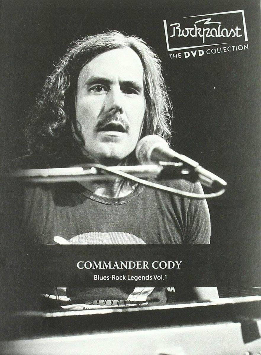 DVD : Commander Cody - Rockpalast: Blues Rock Legends: Volume 1 (DVD)