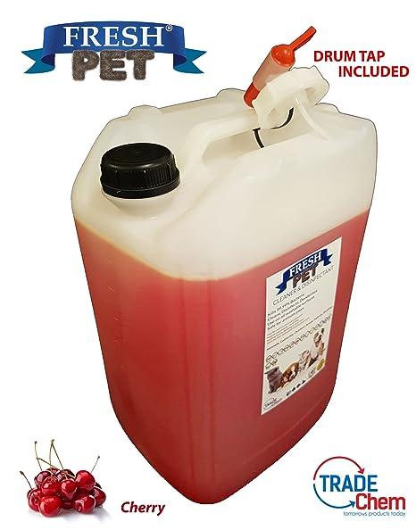 Fresh Pet - Desinfectante, limpiador y ambientador (cereza) para ...