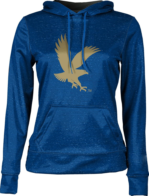 School Spirit Sweatshirt ProSphere Embry-Riddle Aeronautical University Worldwide Girls Pullover Hoodie Heather
