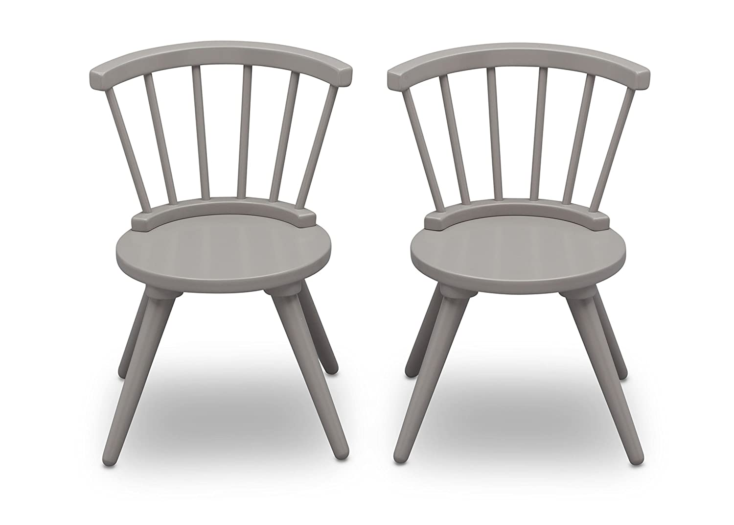 6da8ca93837 Delta Children Windsor Kids Wood Table and Chair Set  (2 Chairs Included )
