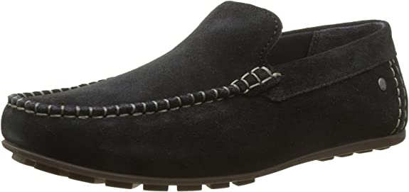 TALLA 44 EU. Base London Henton, Mocasines para Hombre
