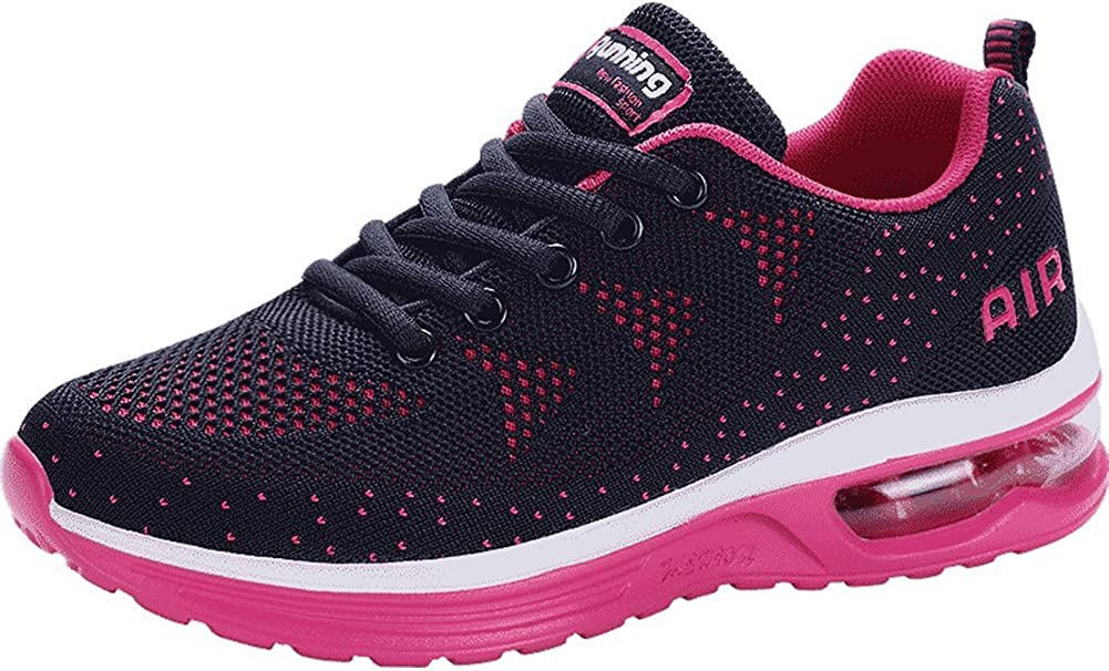 JARLIF Womens Lightweight Athletic Running Shoes Breathable Sport Air Fitness Gym Jogging Sneakers US5.5-10