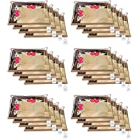 Kuber Industries 24 Piece Non Woven Single Saree Cover
