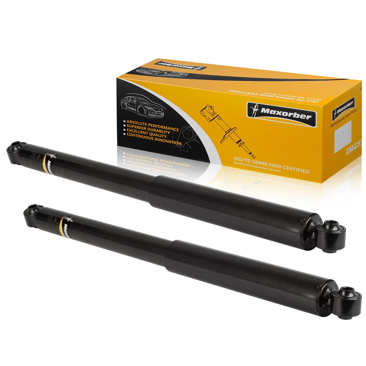 For 2002-2008 Dodge Ram 1500 2WD Set of 4PCS Front and Rear Shock Absorber Kit