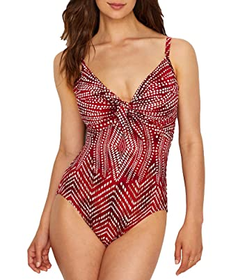 8e3d9f747261d Miraclesuit Babylon Pin-Up Underwire One-Piece at Amazon Women's ...