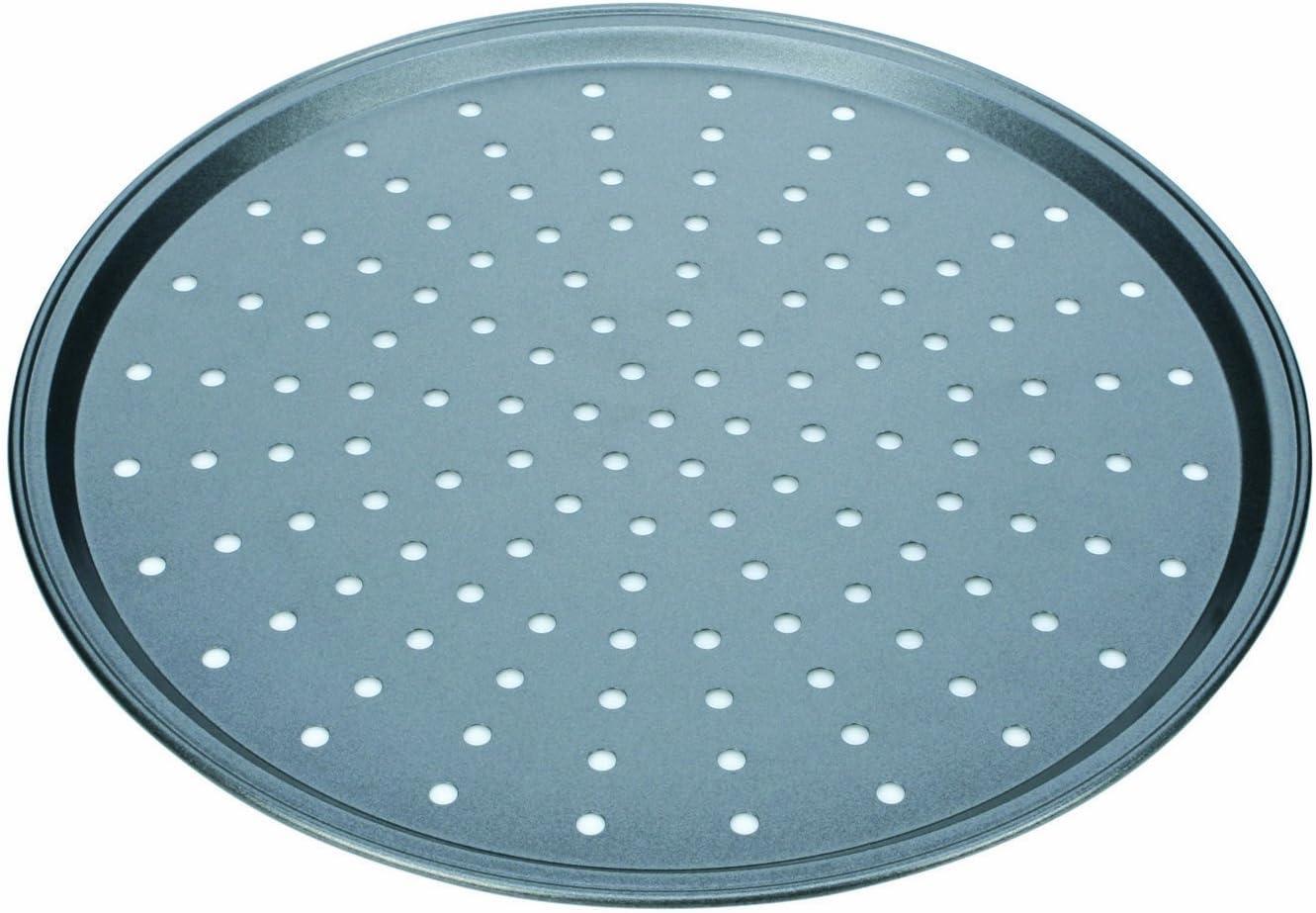 Tescoma Molde para Pizza Perforado, 32 cm, Negro: Amazon.es: Hogar