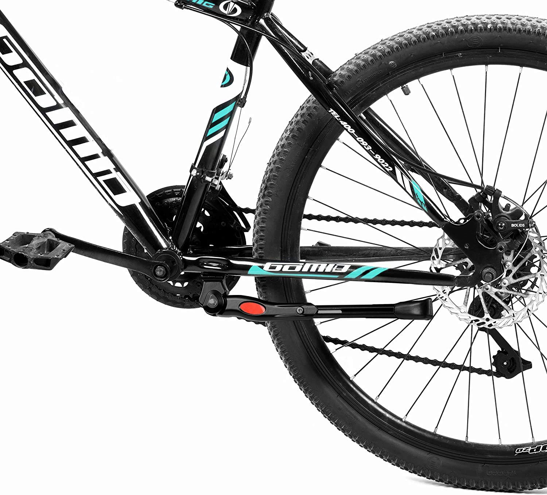 Kimanli Adjustable Bicycle Kickstand Mountain Bike MTB Aluminum Side Rear Kick Stand