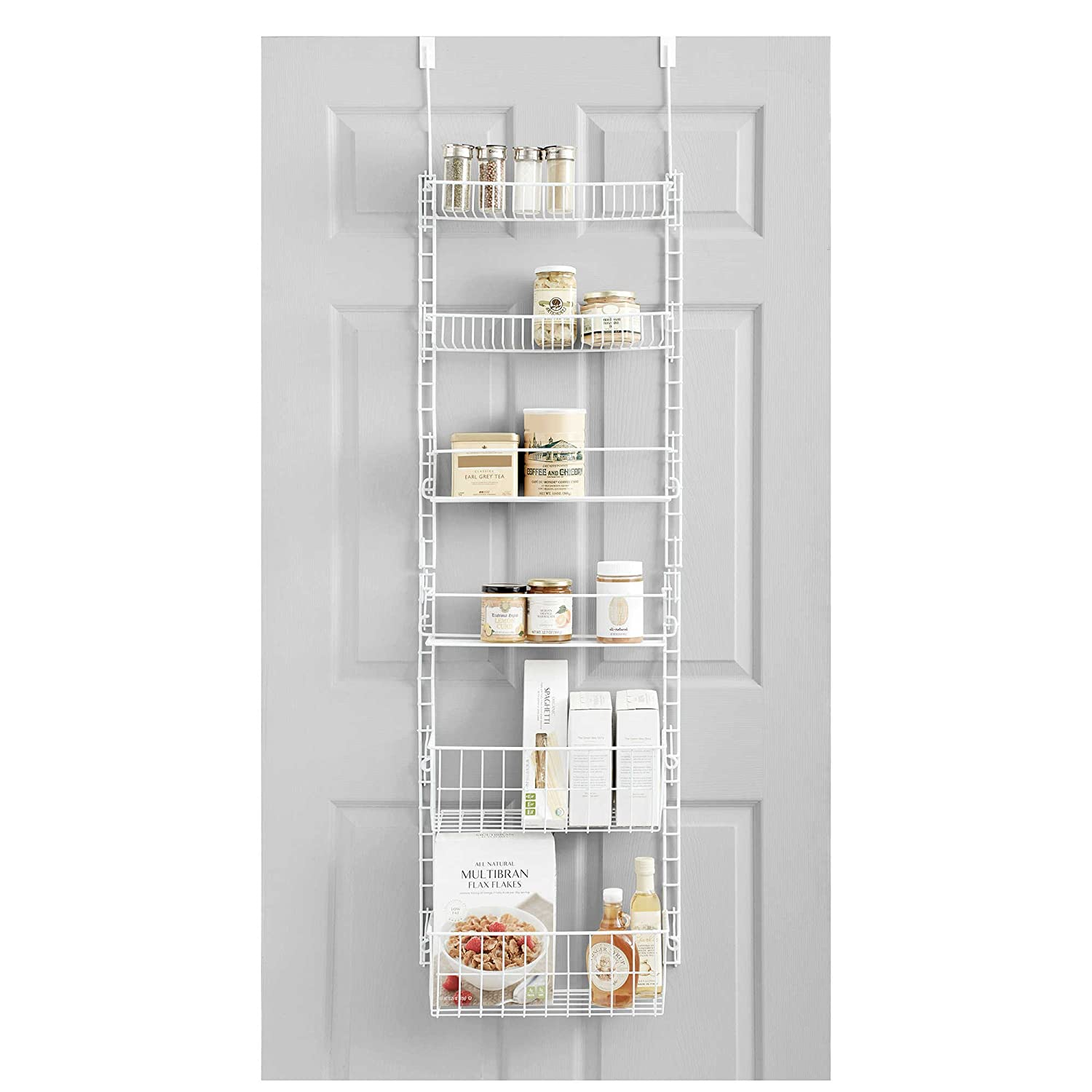 Delightful Amazon.com   SALT Over The Door Deluxe Household Organizer Pantry Rack
