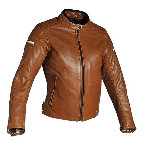 Richa Daytona – Chaqueta para la moto, cuero, marrón