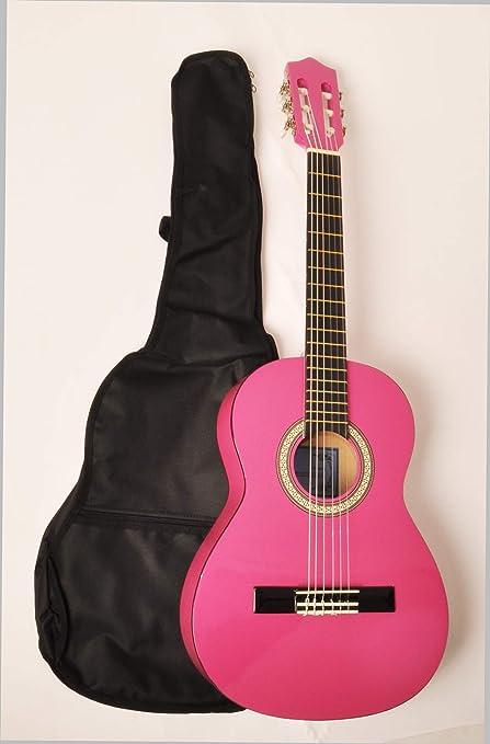 Omega Kit de clase 1 3/4 MPN rosa acústica paquete con bolsa de ...