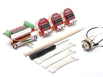 toneshaper nextgen wiring kit, solder-free, ng03 (strat & many other guitars
