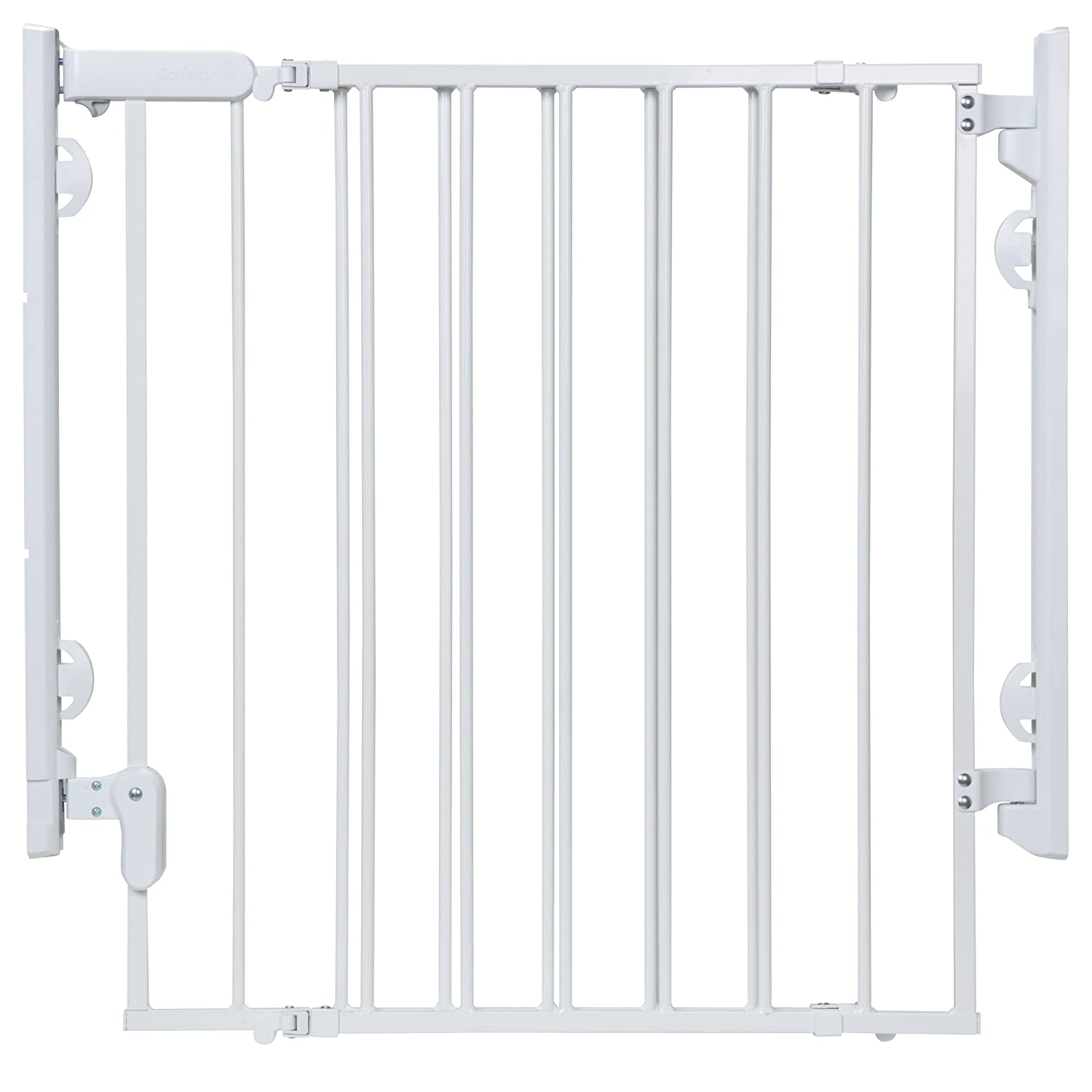 Safety 1st Ready to Install Baby Gate White
