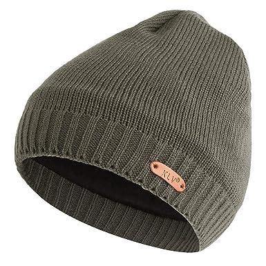 Makefortune Männer Frauen Baggy Warme Mütze Häkeln Winter Wolle