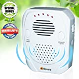 Pest Control, Ultrasonic Repeller, Electronic Plug in, Best Repellent Get Rid Of - Rodents, Mice, Rats, Roaches, Spiders, Bed Bugs & insects, Has a USB port, Use Indoor & Outdoor, in Car from Battery