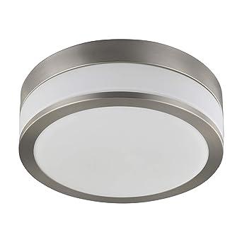 Lampenwelt Deckenlampe Flavi Spritzwassergeschutzt Modern In