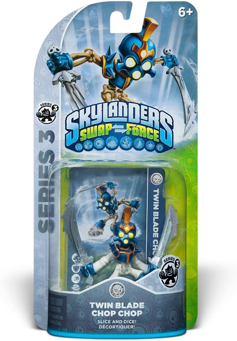 Amazon.com: Skylanders SWAP Force: Twin Blade Chop Chop Series 3 ...