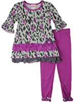 LnLClothing Toddlers 2pc Animal Print Top With Leggings