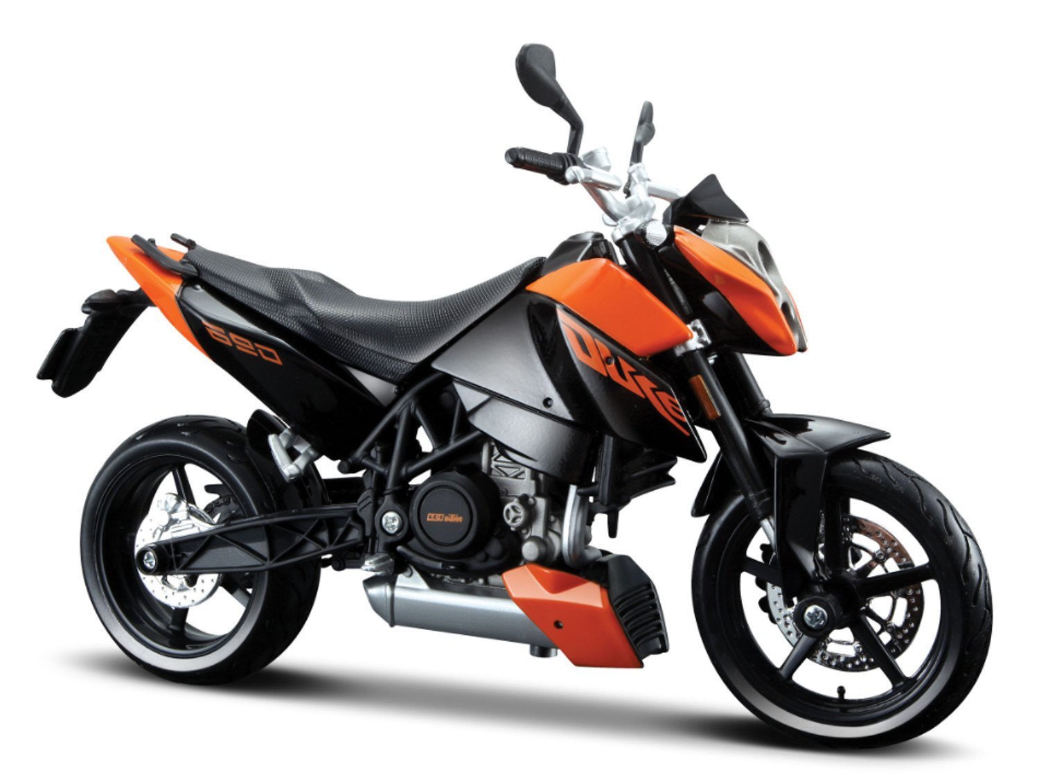 Buy maisto 112 ktm 690 duke black orange online at low prices in india amazon in