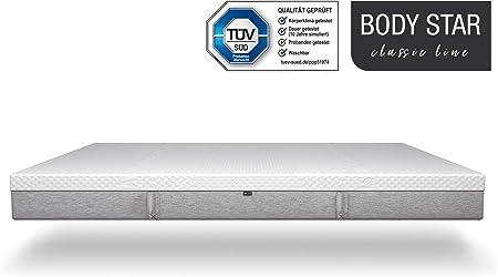 Amazon.de: Body-Star Classic line - Die vielleicht Beste Matratze der Welt:  90x200cm, 7-Zonen